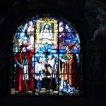 Northern Italy photo of some church stain glass window