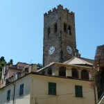 Picture of northern Italy - a clock tower