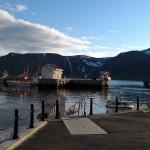Harbor in Honningsvag Norway