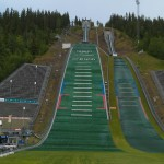 Olympic Ski Jump in Lillehammer Norway