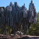 Pipe Statue in Helsinki Finland