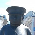 Policeman Statue Oulu
