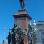 Statue Helsinki Finland