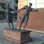 Statue in Narvik Norway