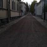 Street in Kuopio Finland