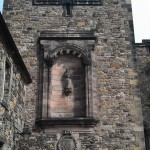 Edinburg castle wall