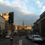 Day break in Edinburgh