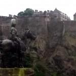Man on Horse Statue in Edinburgh