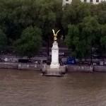 London Golden Eagle Statue