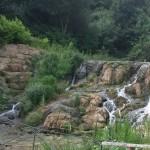 The cascades at Blenheim Palace