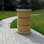Churchill statue at Blenheim Palace