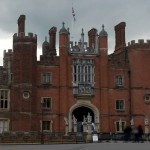Hampton Court Palace in Surrey, UK.