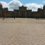 Wide shot of Blenheim Palace